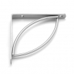 TRAMP 150 SR wspornik stalowy - 150 x 150 mm - srebrny matowy - VELANO DOMAX