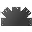 SDLPC 1 - Łącznik C - 315 x 200 x 85 x 2,5 - łącznik płaski - ocynkowany ogniowo - Systemy ozdobne SD - DOMAX DMX