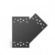 SDLPE 1 - Łącznik C - 155 x 176 x 85 x 2,5 P - łącznik płaski - ocynkowany ogniowo - Systemy ozdobne SD - DOMAX DMX