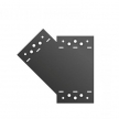 SDLPF 1 - Łącznik C - 155 x 176 x 85 x 2,5 L - łącznik płaski - ocynkowany ogniowo - Systemy ozdobne SD - DOMAX DMX