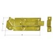 WZP 140 zasuwka zamykana z ryglem prostym - 140 x 55 x 5 mm - DOMAX DMX