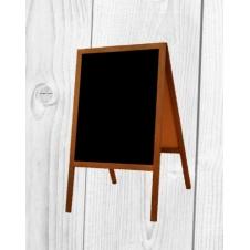 Potykacz reklamowy - PTKZ 5 - wodoodporny niski - 44 x 66 cm - BSB - Konstrukcje drewniane
