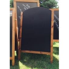 Potykacz reklamowy - PTK_PRES_OW1 - 66,5 x 113,5 cm - BSB - Konstrukcje drewniane