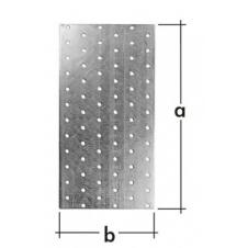 PP 28 płytka perforowana - 40 x 200 mm - ocynkowana ogniowo