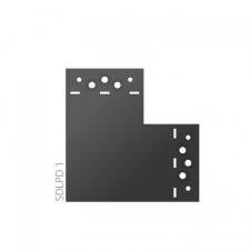 SDLPD 1 - Łącznik C - 146 x 146 x 85 x 2,5 - łącznik płaski - ocynkowany ogniowo - Systemy ozdobne SD - DOMAX SD
