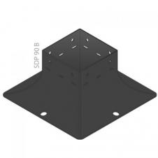 SDP 100B - Podstawa C - 101 x 101 x 97 x 2,0 - podstawa - ocynkowany ogniowo - System ozdobny SD - DOMAX DMX