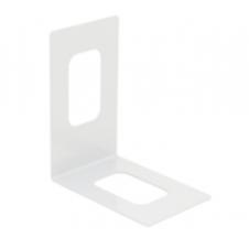 WKS 4 B wspornik do książek kątowy  - biały - VELANO DOMAX
