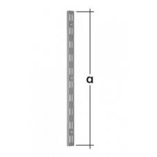WLD 1500 S listwa wspornikowa podwójna - 1500 mm - szara - VELANO DOMAX