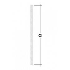 WLD 1500 B listwa wspornikowa podwójna - 1500 mm - biała - VELANO DOMAX