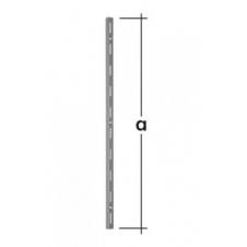 WLS 150 S listwa wspornikowa pojedyncza - 150 mm - szara - VELANO DOMAX